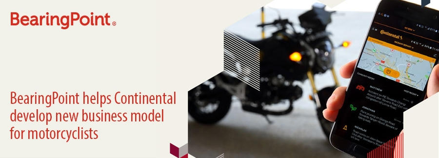 BearingPoint-helps-Continental--develop-new-business-model--for-motorcyclists