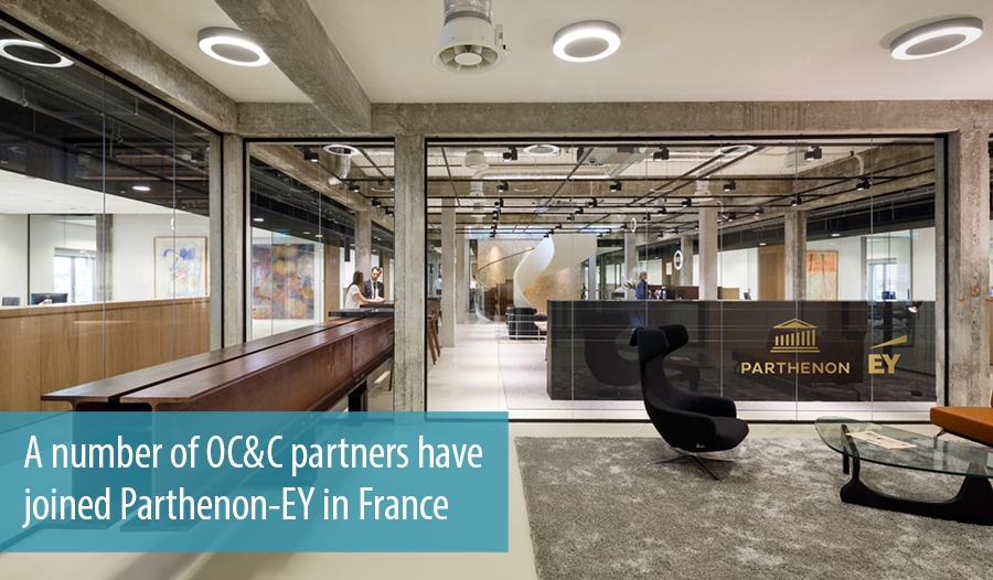 A number of OC&C partners have joined Parthenon-EY in France