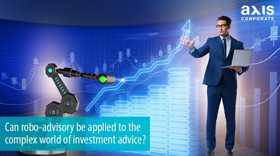 Can robo-advisory be applied to the complex world of investment advice?