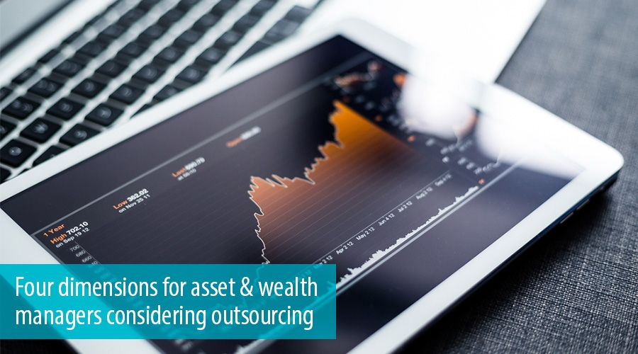 Four dimensions for asset & wealth managers considering outsourcing