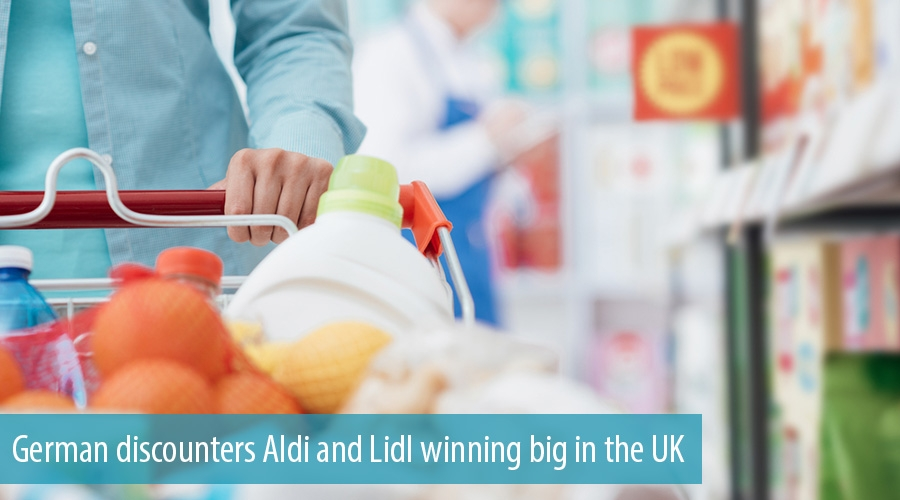 German discounters Aldi and Lidl winning big in the UK