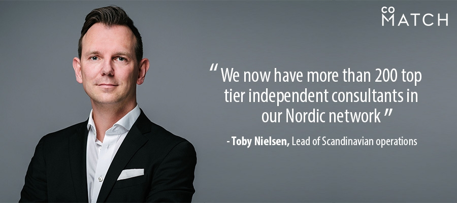 We now have more than 200 top tier independent consultants in our Nordic network
