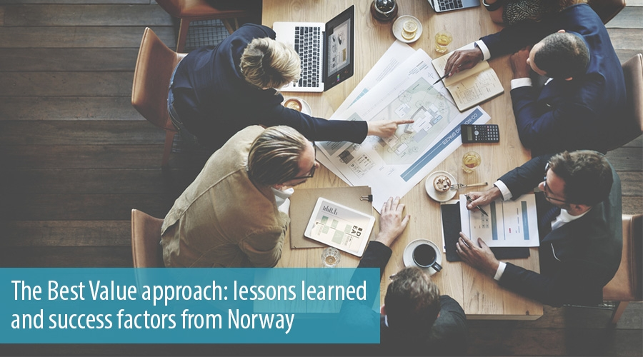 The Best Value approach: lessons learned and success factors from Norway
