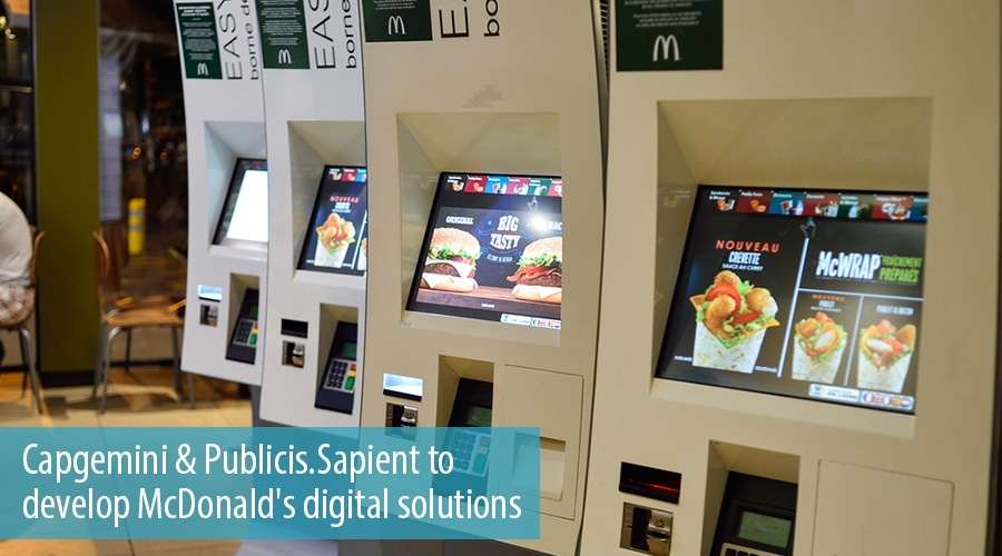Capgemini & Publicis.Sapient to develop McDonald's digital solutions