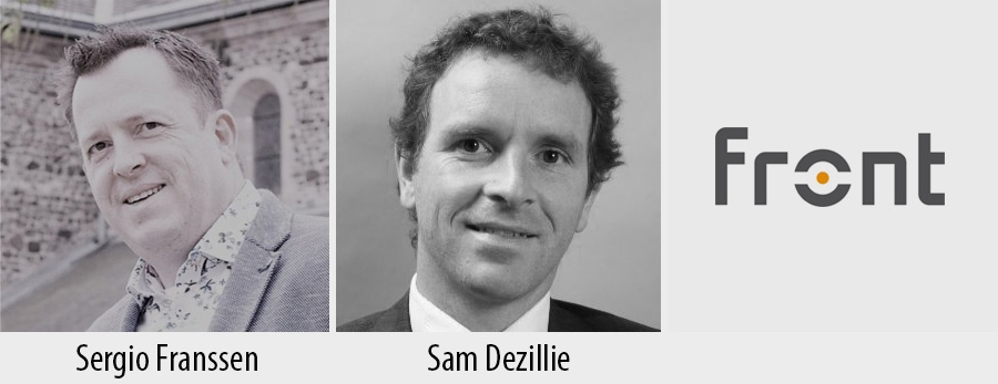 Sergio Franssen and Sam Dezellie - Front Consulting