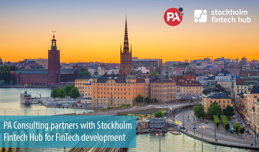 PA Consulting partners with Stockholm Fintech Hub for FinTech development