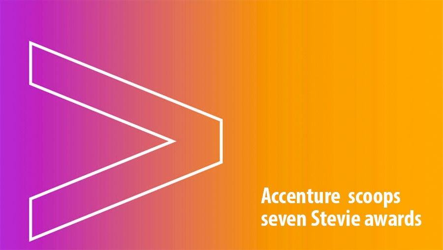 Accenture scoops seven Stevie awards