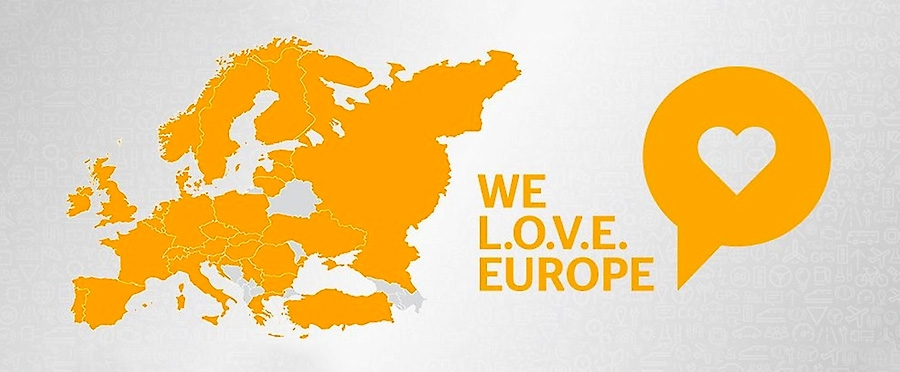 We-love-Europe pilot project
