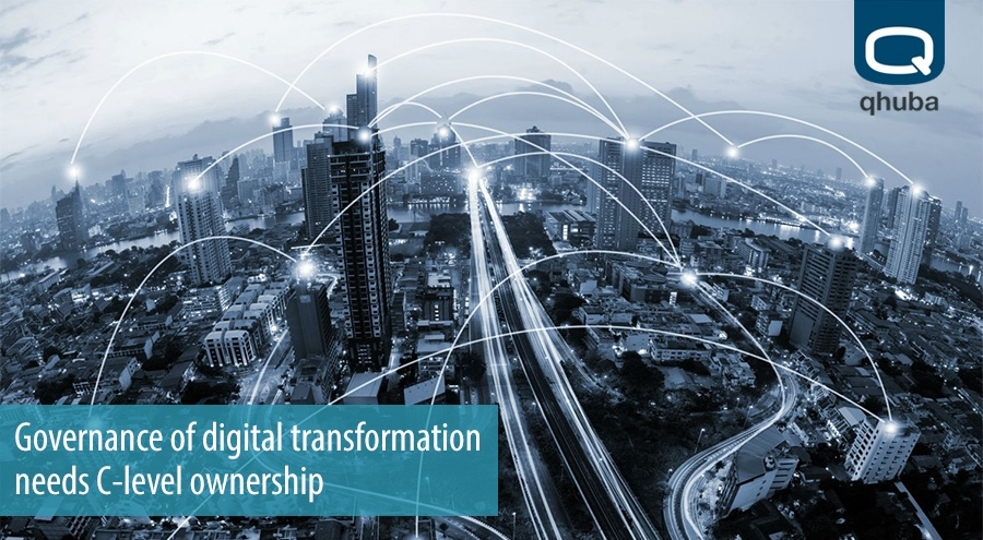 Governance of digital transformation needs C-level ownership