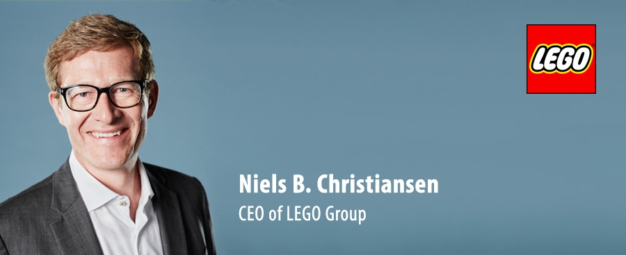 Niels Christiansen - CEO of Lego Group