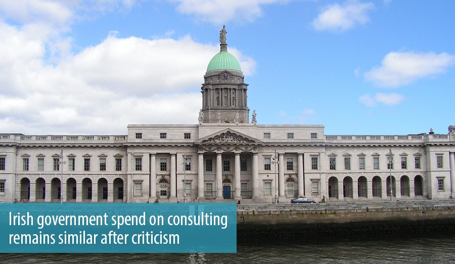 Irish government spend on consulting remains similar after criticism