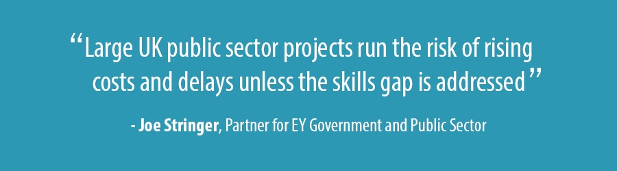 Quote - Joe Stringer, Partner for EY Government and Public Sector