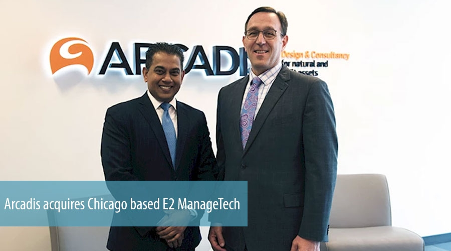 Arcadis acquires Chicago based E2 ManageTech