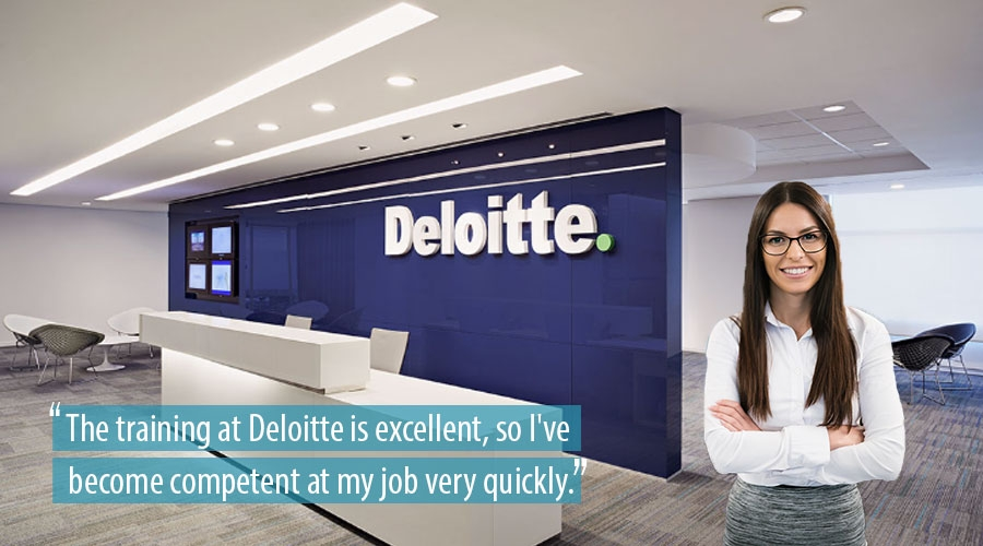 Training at Deloitte