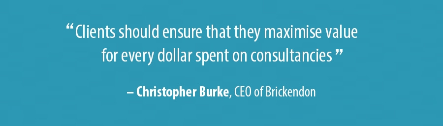 Quote Christopher Burke, CEO of Brickendon