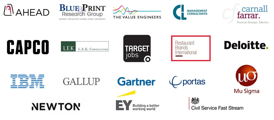 29 Consulting firms attending (UCL first 18)