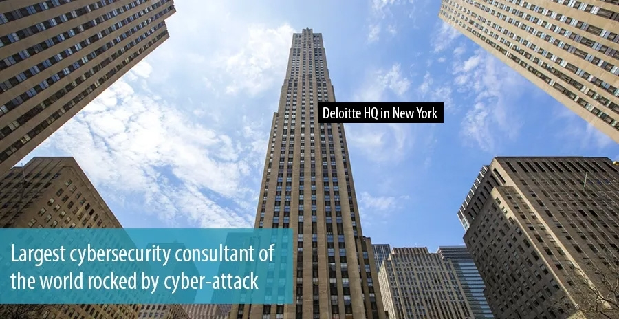 Largest cybersecurity consultant of the world rocked by cyber-attack
