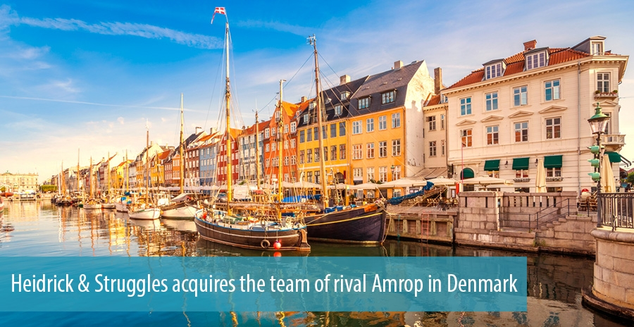 Heidrick & Struggles acquires the team of rival Amrop in Denmark