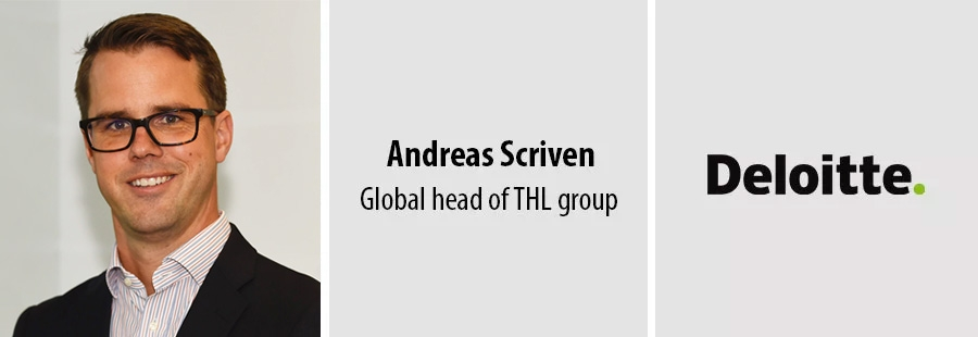 Andreas Scriven - Global head of THL group at Deloitte