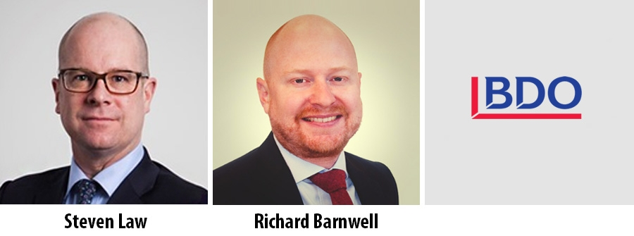 Steven Law and Richard Barnwell - BDO