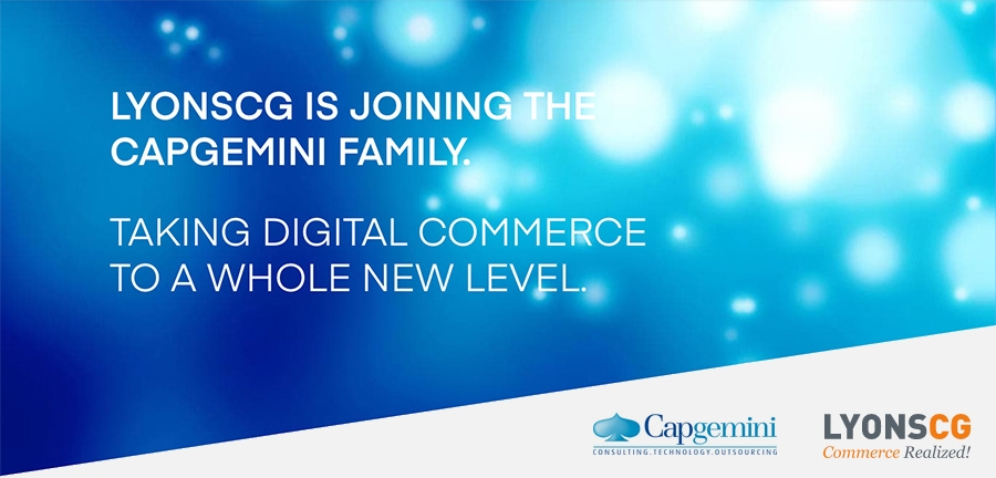 Capgemini acquires eCommerce provider Lyons Consulting Group