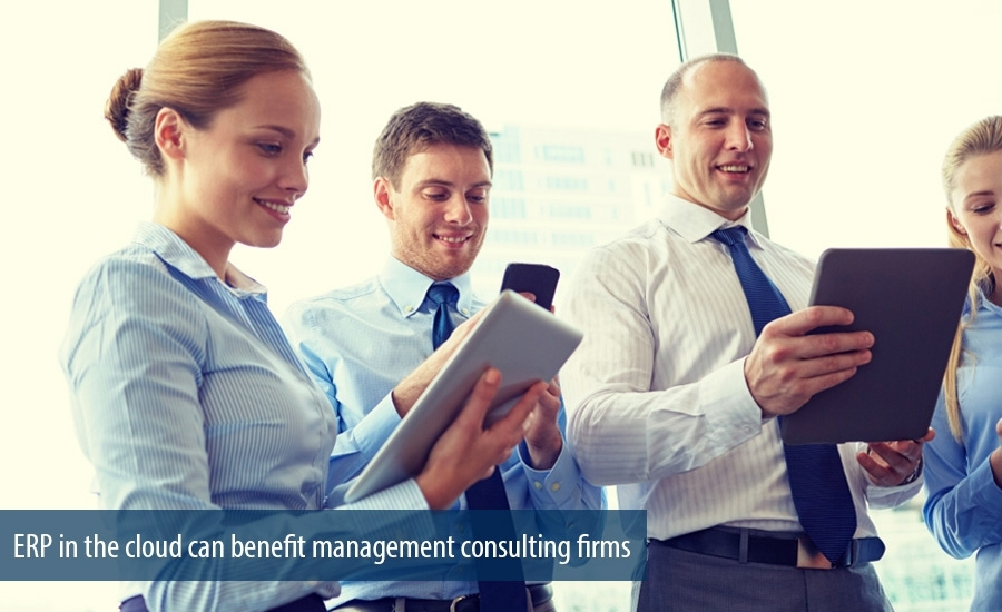 ERP in the cloud can benefit management consulting firms