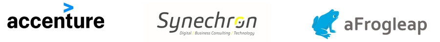 Accenture, Synechron, aFrogleap