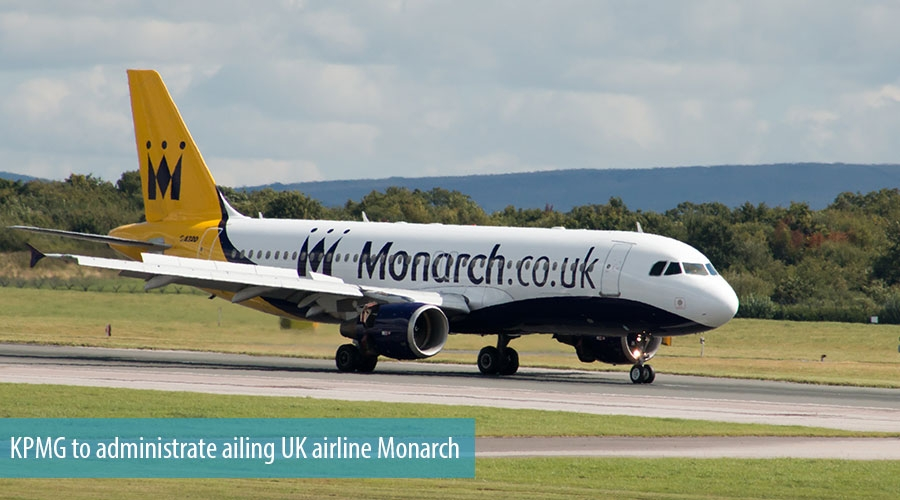 KPMG to administrate ailing UK airline Monarch