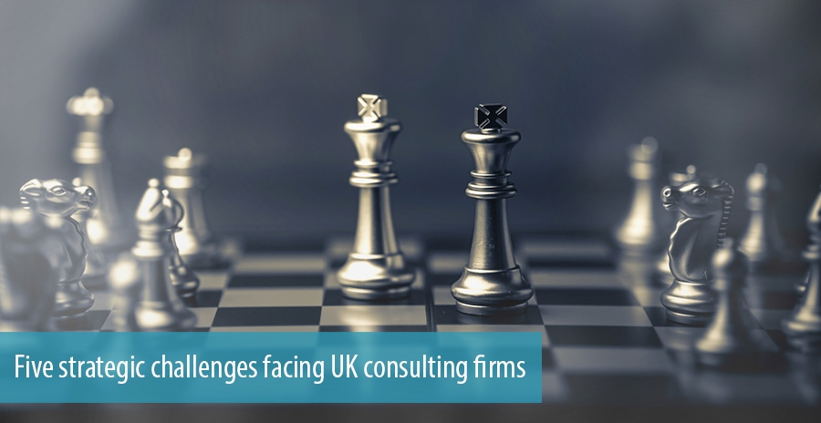 Five strategic challenges facing UK consulting firms