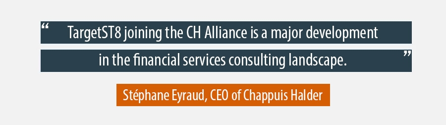 TargetST8 joining the CH Alliance is a major development in the financial services consulting landscape