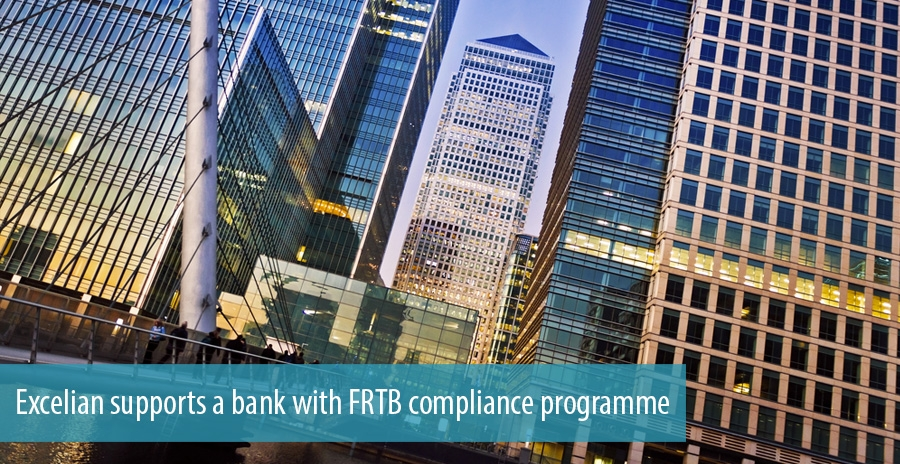 Excelian supports a bank with FRTB compliance programme