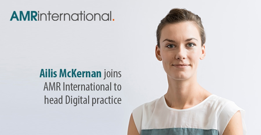 Ailis McKernan joins AMR International to head Digital practice""