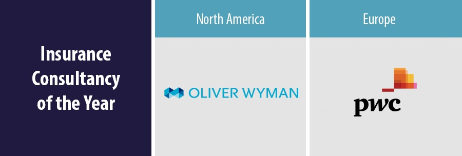 Oliver Wyman and PwC win awards