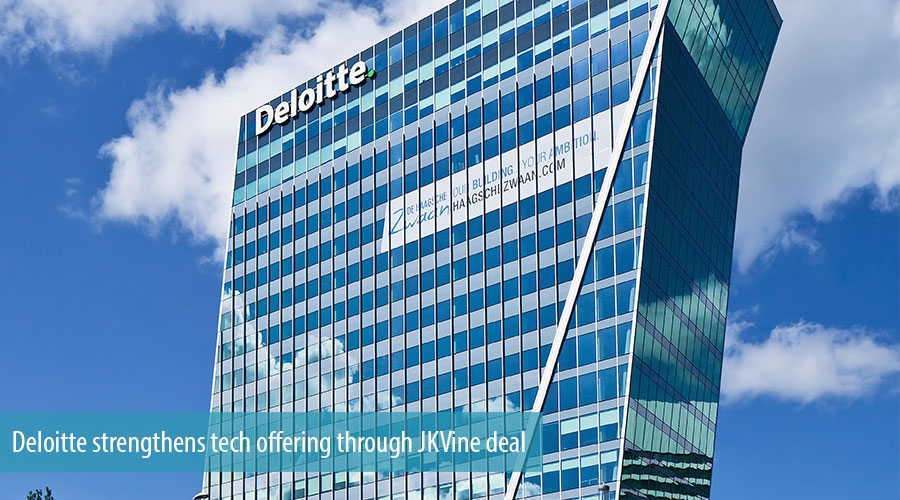 Deloitte strengthens tech offering through JKVine deal