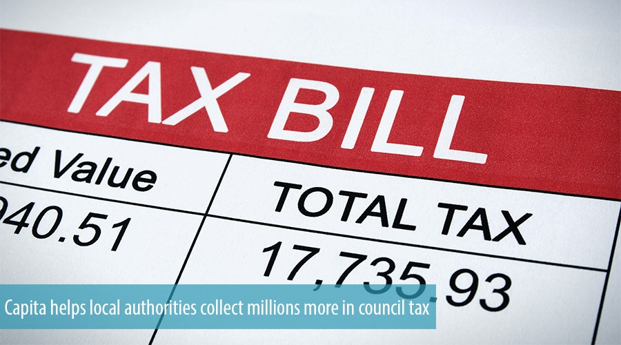 Capita helps local authorities collect millions more in council tax