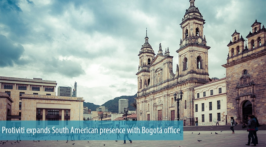 Protiviti expands with Bogotá office