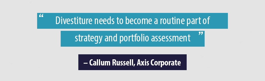 Divestiture needs to become a routine part of strategy and portfolio assessment