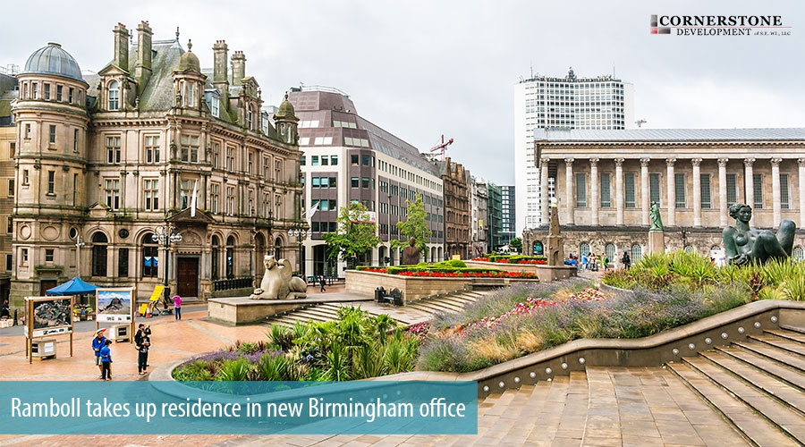 Ramboll takes up residence in new Birmingham office