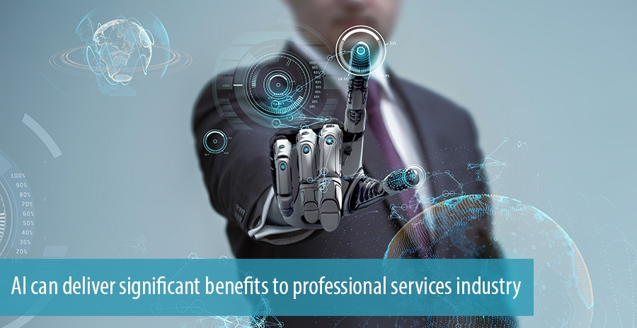 AI can deliver significant benefits to professional services industry