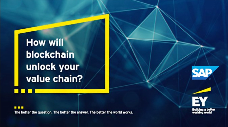 EY extends partnership with SAP to increase global Blockchain deployment