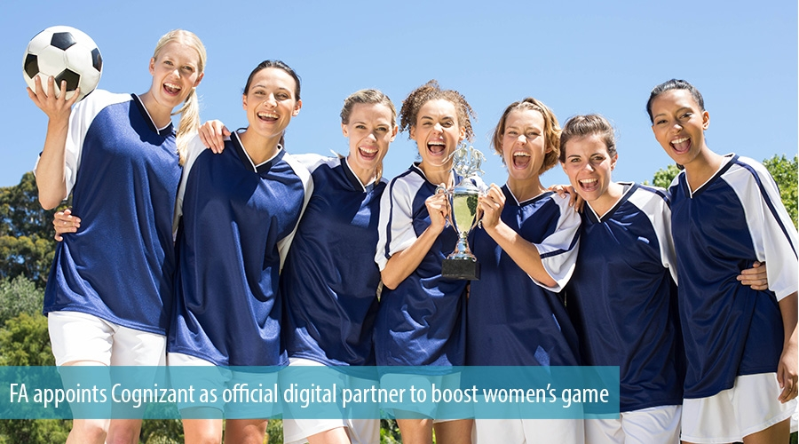 FA appoints Cognizant as official digital partner to boost women's game