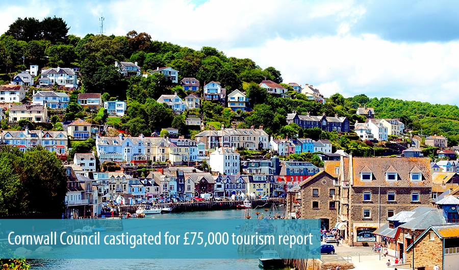 Cornwall Council castigated for £75,000 tourism report