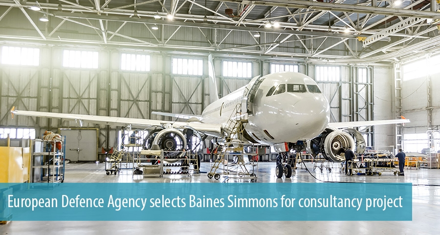 European Defence Agency selects Baines Simmons for consultancy project