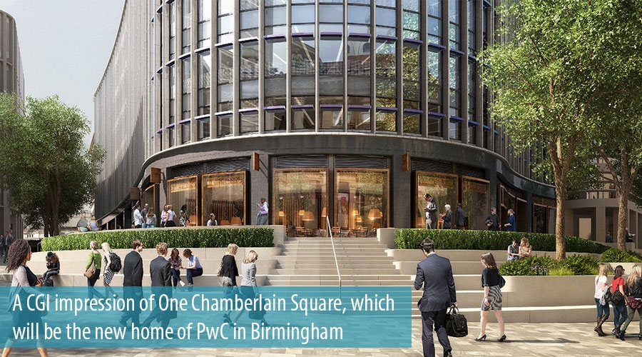 PwC to expand Birmingham presence in 2019 amid UK-wide reshuffle