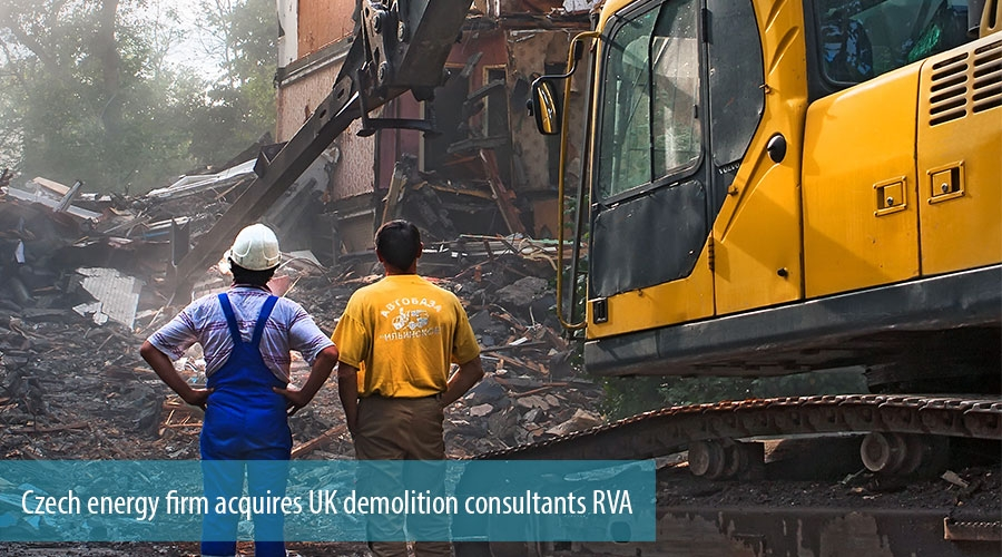 Czech energy firm acquires UK demolition consultants RVA
