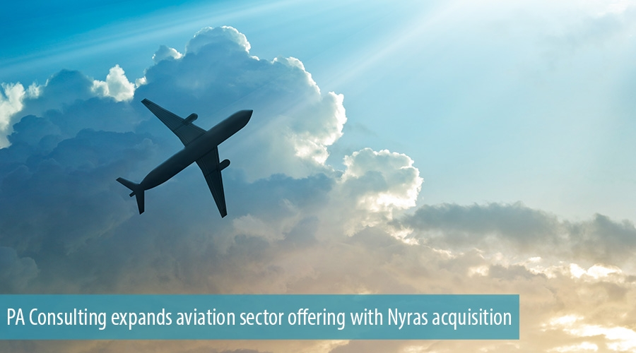 PA Consulting expands aviation sector offering with Nyras acquisition