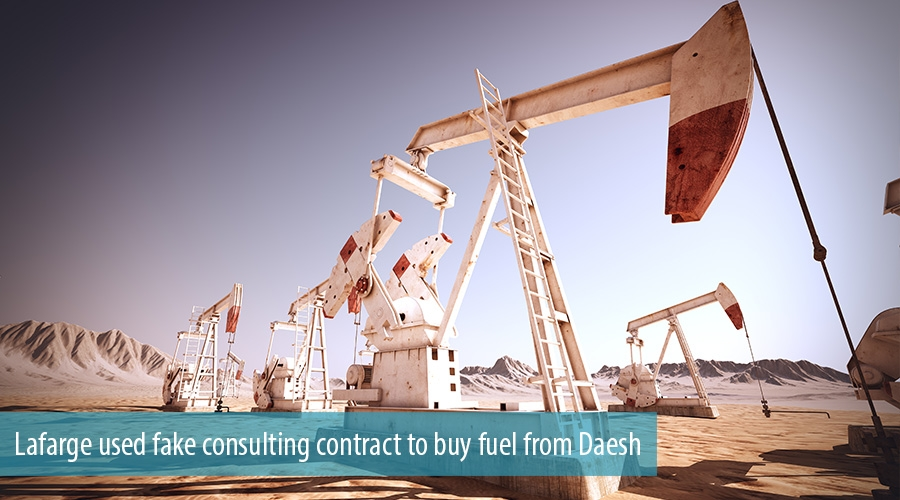 Lafarge used fake consulting contract to buy fuel from Daesh