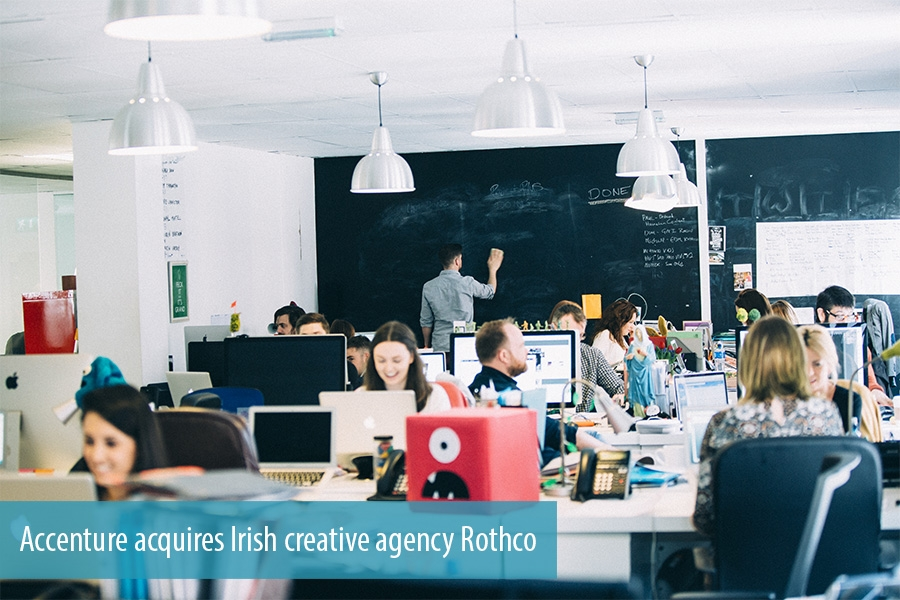 Accenture acquires Irish creative agency Rothco