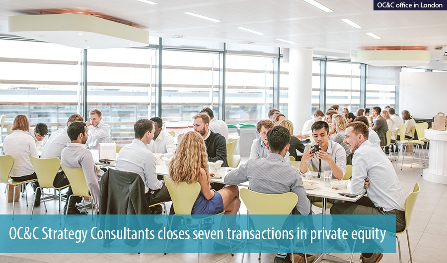 OC&C Strategy Consultants closes seven transactions in private equity