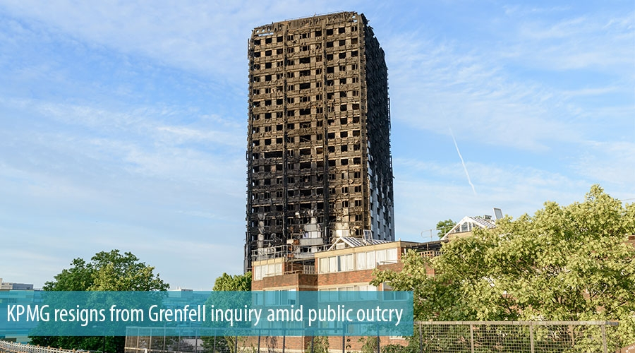 KPMG resigns from Grenfell inquiry amid public outcry